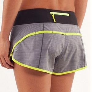 Pants - Lululemon Run Speed Shorts